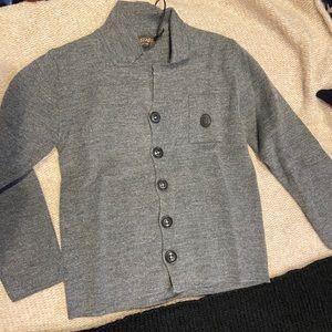NEW !Trussardi Grey Cardigan